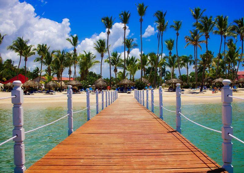 Pier in Dominican Republic