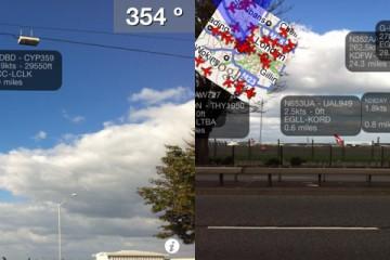 Plane Finder AR Travel App