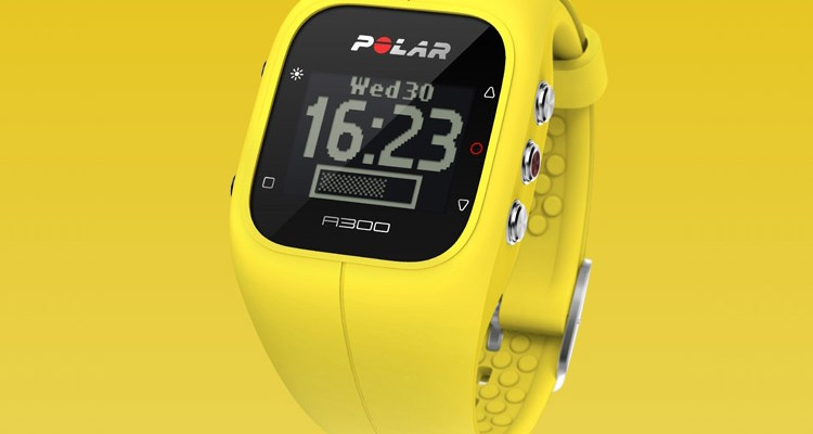 Polar A300 Fitness Watch and Activity Tracker (yellow)