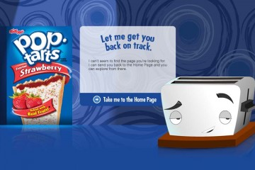 Pop-Tart Error Page