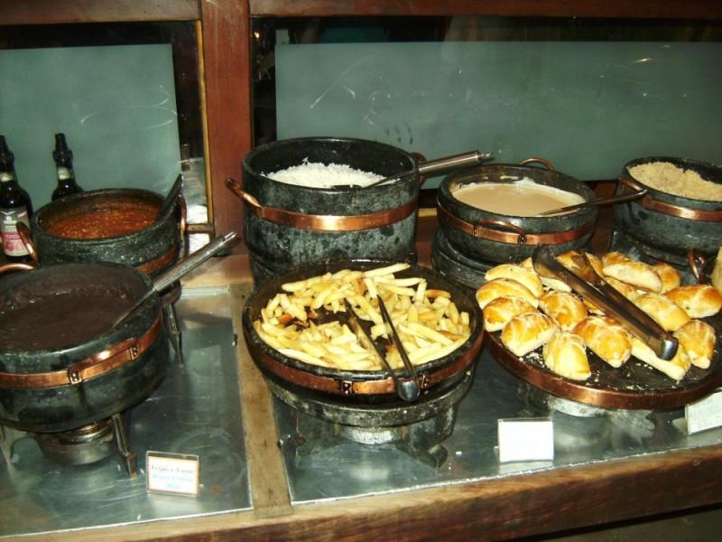 Por-kilo Buffet Restaurant, Brazil