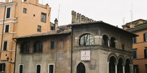 Postcards from Rome: Inn Where Dante Stayed