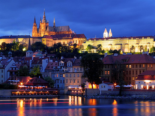 View from the Charles Bridge, Prague