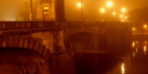 Prague in Fog, Czech Republic