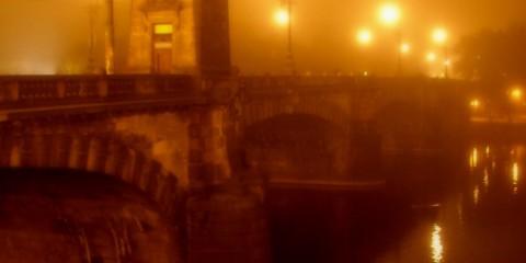 Prague in Fog, Czech Republic