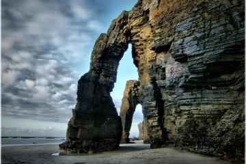 """Praia das Catedrais (""""Beach of the Cathedrals""""), Spain"""