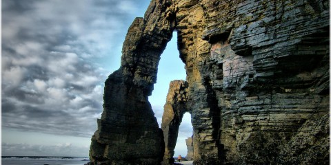 "Praia das Catedrais (""Beach of the Cathedrals""), Spain"
