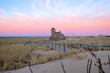 Cape Cod Seashore in Provincetown, Massachusetts