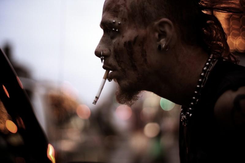 Punk Zombie Guy, Toronto, Canada