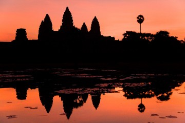 Reflections of Siem Reap, Cambodia