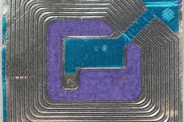 RFID Chip (Closeup)