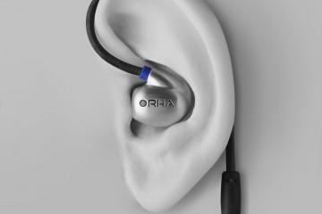 RHA T20i Headphones with Over-ear Hooks