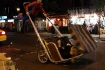 rickshaw-spiderman-new-york-city
