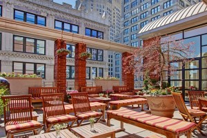 Rooftop Garden at Hotel Giraffe, New York City (NYC)