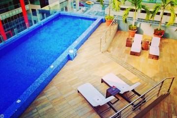 Pool at Sonesta Hotel Guayaquil, Ecuador