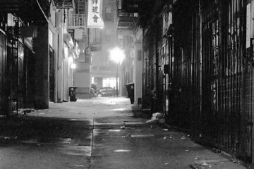 Ross Alley in Chinatown, San Francisco