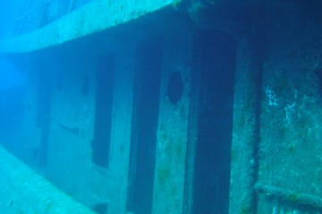 Port Side of Rozi Shipwreck