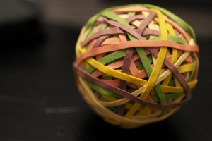 Rubber Band Ball (closeup)