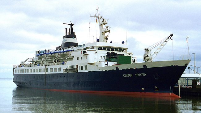 Russian Supply Ship Lyubov Orlova