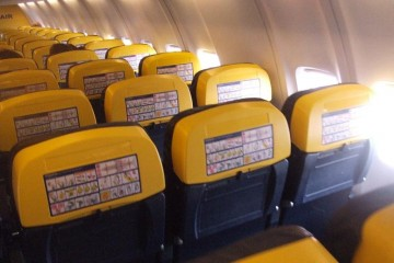 RyanAir Airplane Seats