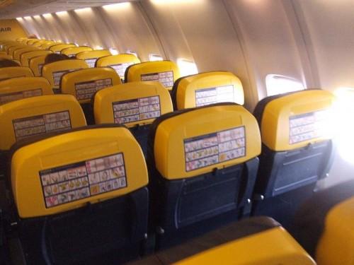 RyanAir Airplane Seats