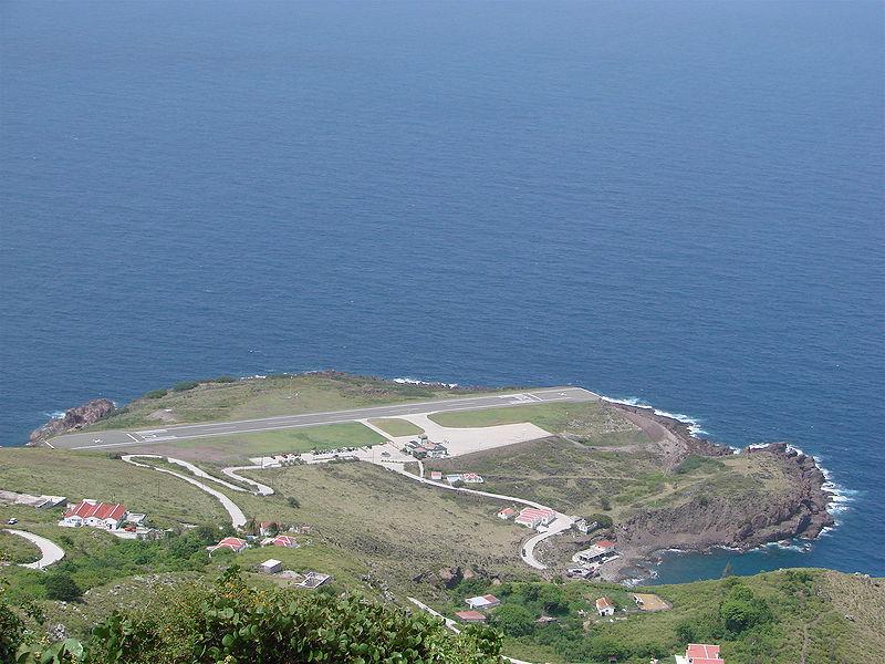 Saba Airport (Dutch Antilles)