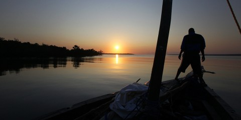Setting Sail at Sunrise, Mozambique