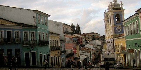 Downtown Salvador, Brazil