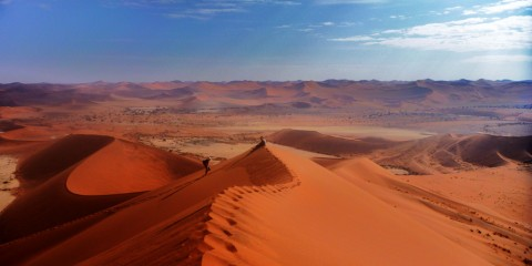 Sand Dunes in Namibia, Africa