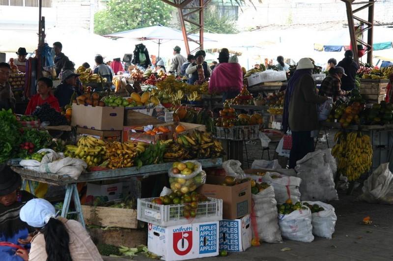 Saquisili Market, Ecuador