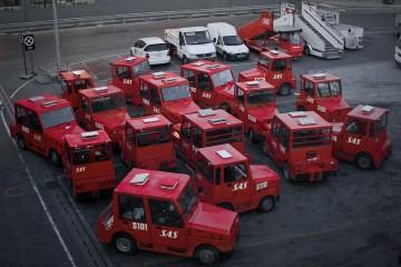 SAS Cars at Oslo Gardermoen Airport
