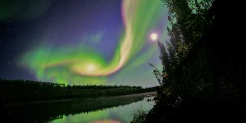 Seeing the Aurora in a New Light, Whitehorse, Yukon, Canada