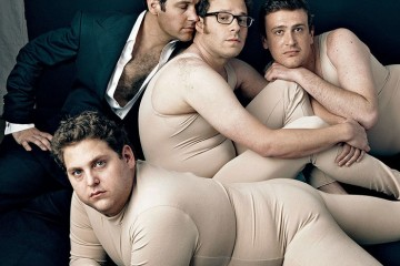 Seth Rogen and Paul Rudd (Vanity Fair photo shoot)