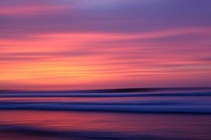 The Canvas of a Setting Sun, Huanchaco, Peru