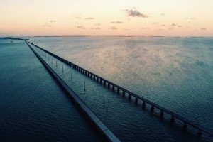Seven Mile Bridge at Sunset