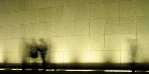 Silhouettes at the Van Gogh Museum, Amsterdam