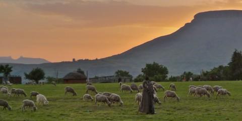 Timeless Sunset, Lesotho