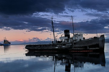 Shipwrecked in Ushuaia, Argentina