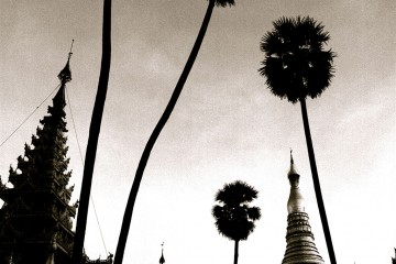 Shwedagon (Golden) Pagoda in Yangon, Burma