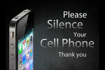 Sign: Please Silence Your Cell Phone