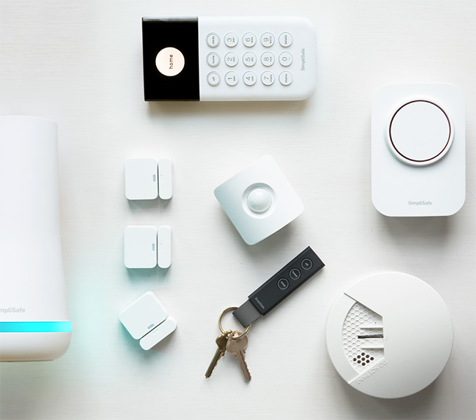 SimpliSafe Hearth Home Security System