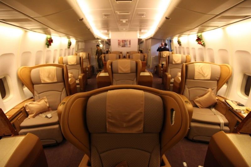First Class on Singapore Airlines