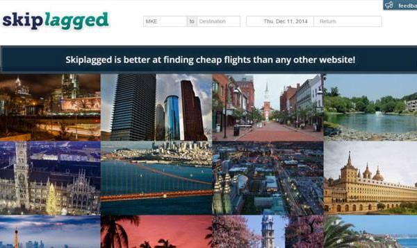 Skiplagged (homepage)