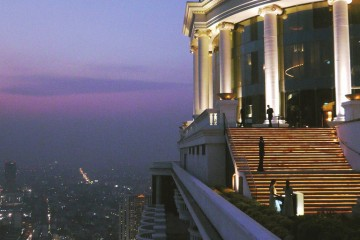 Sky Bar in Bangkok, Thailand