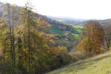 Slad Valley, Gloucestershire, England