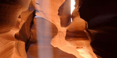 Slot Canyon Sunbeam, Arizona
