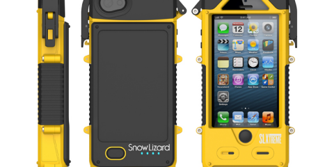 Snow Lizard SLXTREME 5 iPhone Case (yellow)