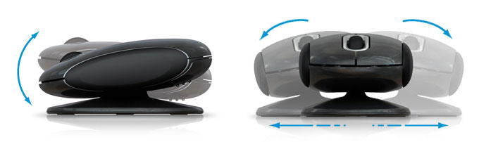 Pivot of Smartfish Whirl Mini Laser Mouse