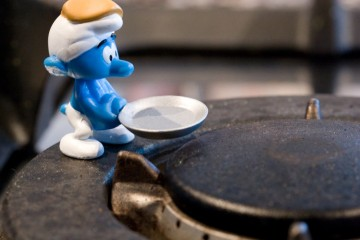 Smurf Cooking