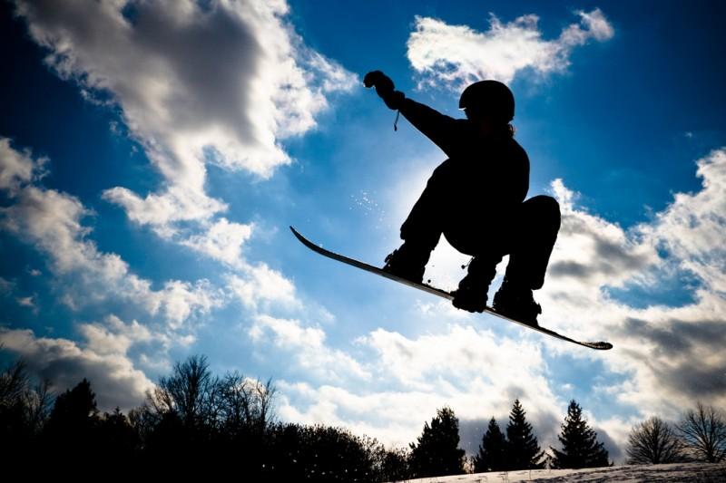 Snowboarder, Toronto, Canada